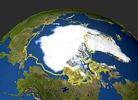 El ártico y la Antártida se reducen por el cambio climático: aumenta el nivel del mar