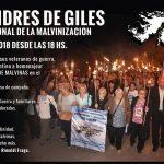 El próximo domingo, Vigilia por Malvinas en San Andrés de Giles