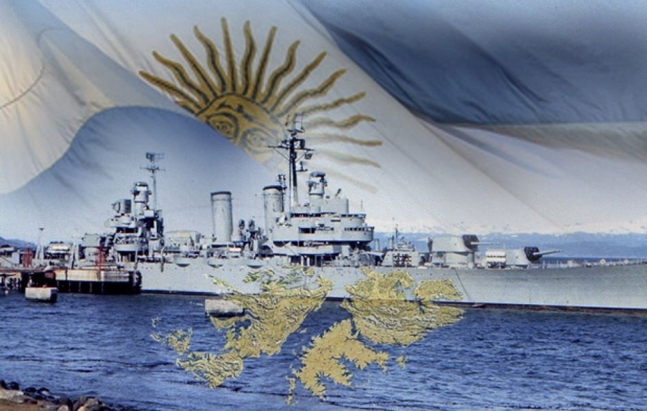Crucero ARA.Gral. Belgrano – El Malvinense – Islas