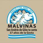 """""""MALVINAS… SAN ANDRÉS DE GILES TE CANTA"""" 22° FOGÓN CRIOLLO"""