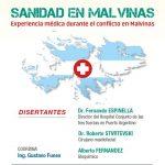 Charla sobre sanidad en Malvinas