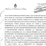 Incremento complemento Decreto 12444/98