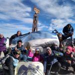 Al Copahue por los héroes de Malvinas