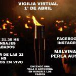 Hoy habrá vigilias virtuales en distintos puntos del país