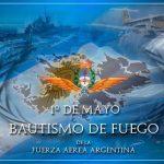 1°de Mayo: Bautismo de fuego de la Fuerza Aerea y nuestro primer Héroe de Malvinas