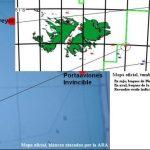 Mapa petrolero develaría el misterio del portaaviones Invencible atacado en 1982