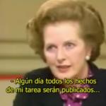 Hasta los británicos cuestionaron el acto de perfidia de Margaret Thatcher