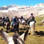 Veteranos de Malvinas cruzan la Cordillera de los Andes