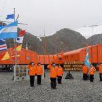 """El rompehielos ARA """"Almirante Irízar"""" llegó a la Base Orcadas"""