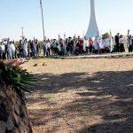 San Rafael: Otra vez vandalizaron el monumento a los Veteranos de Malvinas