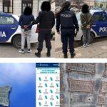 Necochea: detienen a pareja que robó placa del monumento a Malvinas