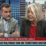 """Beatriz Sarlo: """"Cuando la gente dice que las Malvinas son argentinas no se sientan ni un minuto a pensar"""""""